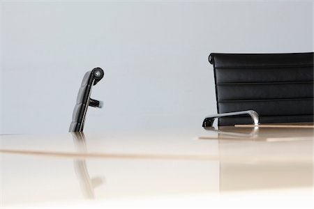 focus on background - Office Chairs and Desktop Stock Photo - Premium Royalty-Free, Code: 600-05451172