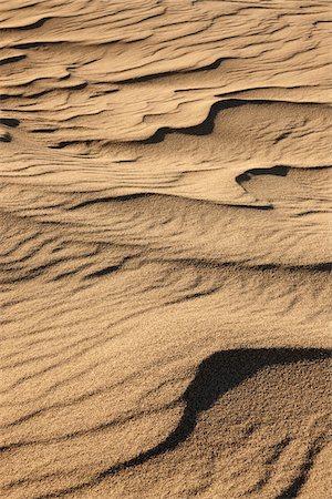 Ripples in Sand, Mojave Desert, California, USA Stock Photo - Premium Royalty-Free, Code: 600-05524186
