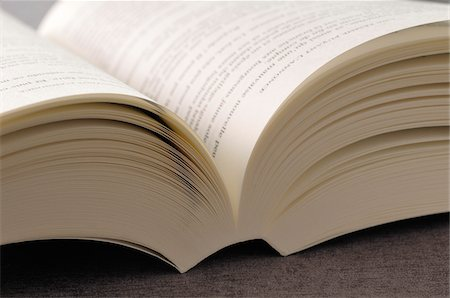 page - Close-up of Open Book Stock Photo - Premium Royalty-Free, Code: 600-05524684
