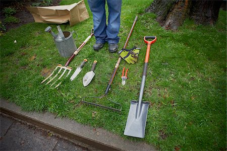 Gardening Tools, Ontario, Canada Stock Photo - Premium Royalty-Free, Code: 600-05642016