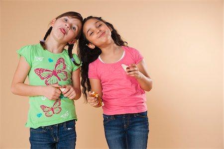 Portrait of Girls Stock Photo - Premium Royalty-Free, Code: 600-05653069