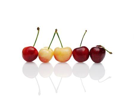 Variety of Cherries Stock Photo - Premium Royalty-Free, Code: 600-05756178