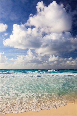 Waves at Grand Anse, La Digue, Seychelles Stock Photo - Premium Royalty-Free, Code: 600-05786213