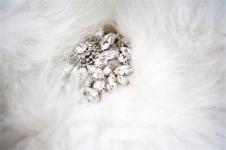Jewelry on Fur Stock Photo - Premium Royalty-Free, Code: 600-05786644