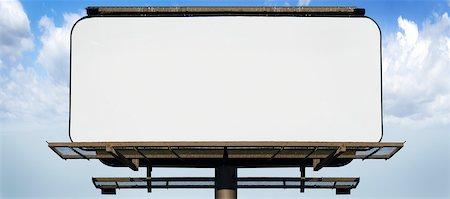 Blank Billboard Stock Photo - Premium Royalty-Free, Code: 600-05803154