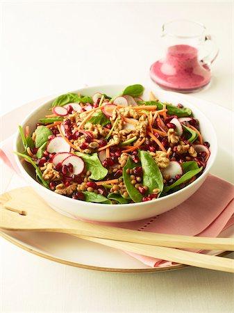 Lentil Salad Stock Photo - Premium Royalty-Free, Code: 600-05821907
