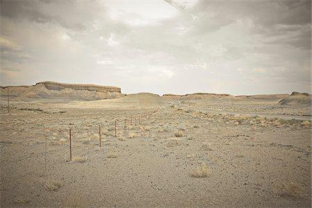 rugged landscape - Rock Formations near Teec Nos Pos, Arizona, USA Stock Photo - Premium Royalty-Free, Code: 600-05822095