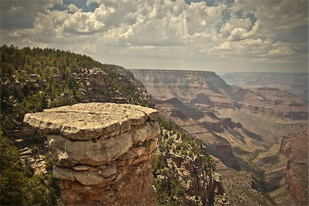 Grandview Point, Grand Canyon National Park, Arizona, USA Stock Photo - Premium Royalty-Free, Code: 600-05837314