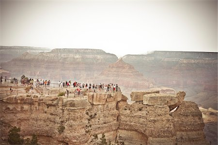 Mather Point, Grand Canyon National Park, Arizona, USA Stock Photo - Premium Royalty-Free, Code: 600-05837315