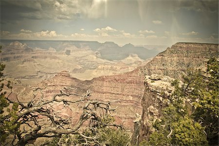 Mather Point, Grand Canyon National Park, Arizona, USA Stock Photo - Premium Royalty-Free, Code: 600-05837316