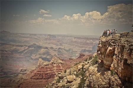 Mather Point, Grand Canyon National Park, Arizona, USA Stock Photo - Premium Royalty-Free, Code: 600-05837324