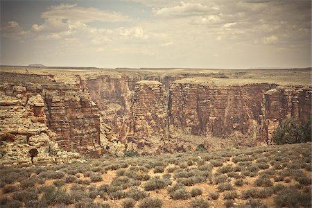 Little Colorado River Gorge, Arizona, USA Stock Photo - Premium Royalty-Free, Code: 600-05837327