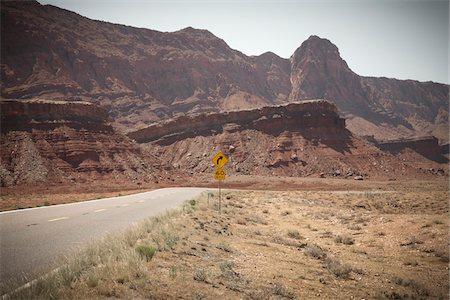 rugged landscape - Vermillion Cliffs, Arizona, USA Stock Photo - Premium Royalty-Free, Code: 600-05837322
