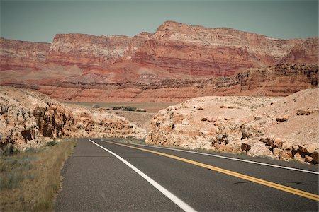 rugged landscape - Vermillion Arizona, USA Stock Photo - Premium Royalty-Free, Code: 600-05837323