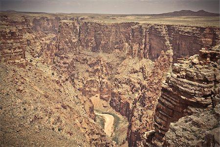 Little Colorado River Gorge, Arizona, USA Stock Photo - Premium Royalty-Free, Code: 600-05837346