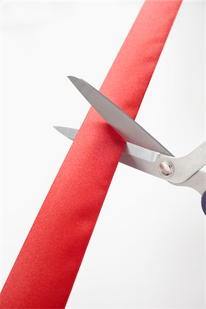 event - Scissors Cutting Red Ribbon Stock Photo - Premium Royalty-Free, Code: 600-05947696