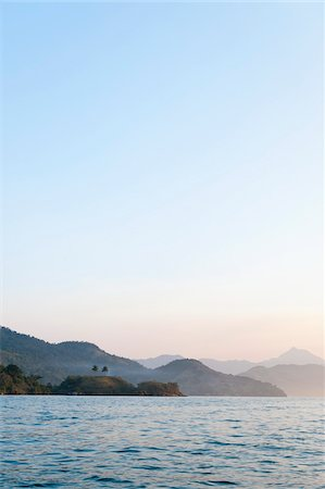 Scenic View of Mountains near Paraty, Costa Verde, Brazil Stock Photo - Premium Royalty-Free, Code: 600-05947907