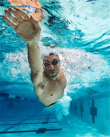 swimming - Swimmer, International Swimming Hall of Fame, Fort Lauderdale, Florida, USA Stock Photo - Premium Royalty-Free, Code: 600-05973054