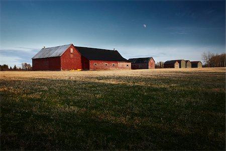 Barns, New Brunswick, Canada Stock Photo - Premium Royalty-Free, Code: 600-06007887