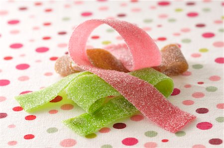 sweet - Candy Ribbons Stock Photo - Premium Royalty-Free, Code: 600-06025204
