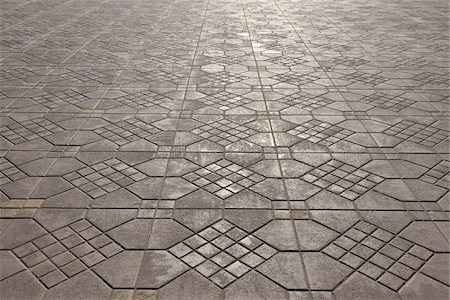 Floor Tiles at Djemaa El Fna Market Square, Marrakech, Morocco Stock Photo - Premium Royalty-Free, Code: 600-06038065
