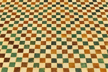 patterned - Traditional Tile, Marrakech, Morocco Stock Photo - Premium Royalty-Free, Code: 600-06038061