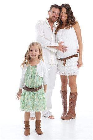 Portrait of Family Stock Photo - Premium Royalty-Free, Code: 600-06038099