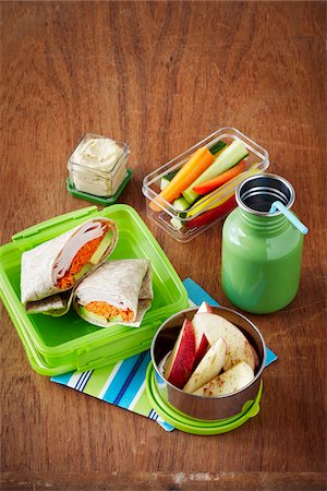 Lunch in Containers Stock Photo - Premium Royalty-Free, Code: 600-06059775