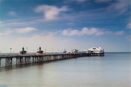 North Pier, Blackpool, Lancashire, England Stock Photo - Premium Royalty-Free, Code: 600-06119541