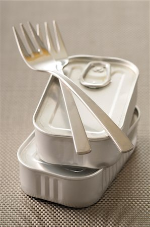 fork - Forks and Tins of Food Stock Photo - Premium Royalty-Free, Code: 600-06119609