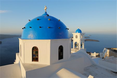 Church, Imerovigli, Santorini Island, Cyclades Islands, Greek Islands, Greece Stock Photo - Premium Royalty-Free, Code: 600-06125815
