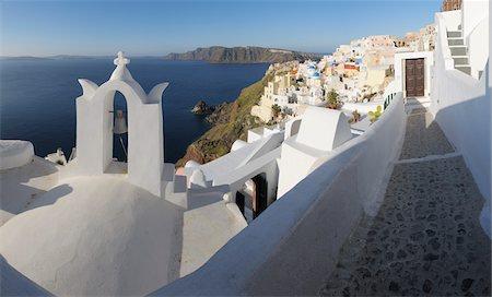 Oia, Santorini Island, Cyclades Islands, Greek Islands, Greece Stock Photo - Premium Royalty-Free, Code: 600-06125817