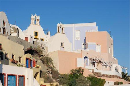 Oia, Santorini Island, Cyclades Islands, Greek Islands, Greece Stock Photo - Premium Royalty-Free, Code: 600-06125812