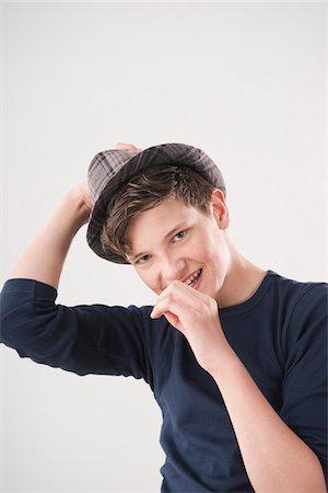 Portrait of Teenage Boy Stock Photo - Premium Royalty-Free, Code: 600-06144735