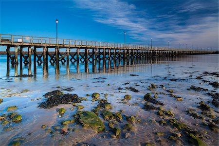 Amble Pier and Harbour, Northumberland Heritage Coast, England Stock Photo - Premium Royalty-Free, Code: 600-06163779