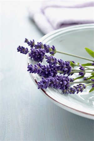 purple - Lavender Flowers in Bowl Stock Photo - Premium Royalty-Free, Code: 600-06180202