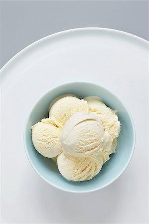 Vanilla Ice Cream Stock Photo - Premium Royalty-Free, Code: 600-06302252
