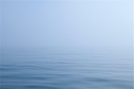 fog (weather) - Ocean and Fog, Maine, USA Stock Photo - Premium Royalty-Free, Code: 600-06355127