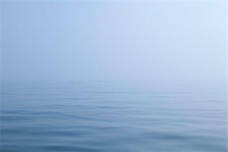 fog (weather) - Ocean and Fog, Maine, USA Stock Photo - Premium Royalty-Free, Code: 600-06355127