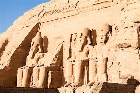 egypt - Great Temple of Rameses II, Abu Simbel, Nubia, Aswan Governorate, Egypt Stock Photo - Premium Royalty-Free, Code: 600-06355328