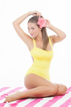 Pin-Up Girl Stock Photo - Premium Royalty-Free, Code: 600-06382888