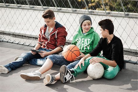 Boys, Mannheim, Baden-Wurttemberg, Germany Stock Photo - Premium Royalty-Free, Code: 600-06382905