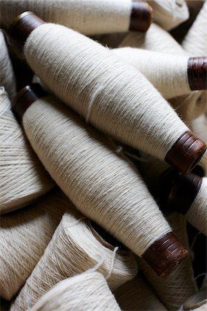Spools of Wool Yarn, Ontario, Canada Stock Photo - Premium Royalty-Free, Code: 600-06383010