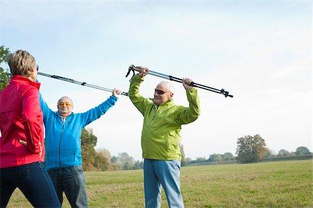 People Exercising, Lampertheim, Hesse, Germany Stock Photo - Premium Royalty-Free, Code: 600-06397405