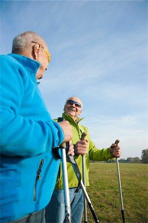 Men Hiking, Lampertheim, Hesse, Germany Stock Photo - Premium Royalty-Free, Code: 600-06397406