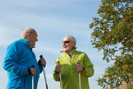 Men Hiking, Lampertheim, Hesse, Germany Stock Photo - Premium Royalty-Free, Code: 600-06397402