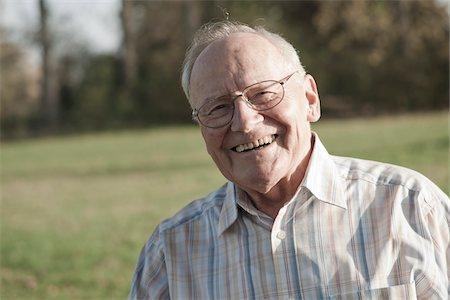 Portrait of Man, Lampertheim, Hesse, Germany Stock Photo - Premium Royalty-Free, Code: 600-06397417