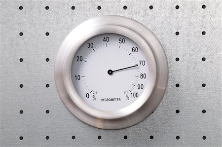 Close-up of Hygrometer Dial Stock Photo - Premium Royalty-Free, Code: 600-06702130