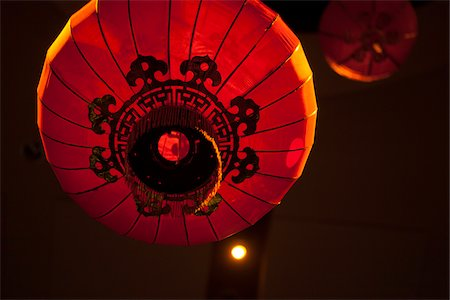 event - Red Chinese lanterns, Traditional Wedding Decor, Toronto, Ontario, Canada Stock Photo - Premium Royalty-Free, Code: 600-06758137