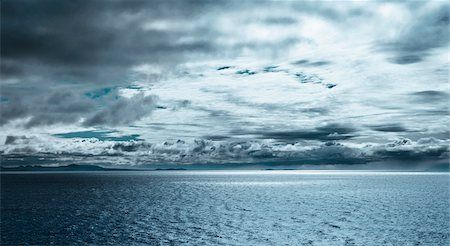 Dramatic Clouds over Ocean, Iceland Stock Photo - Premium Royalty-Free, Code: 600-06752414